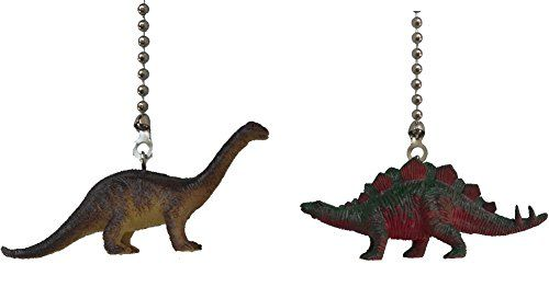 Dinosaur Ceiling Fan Pull Dino Themed Children Bedroom De...