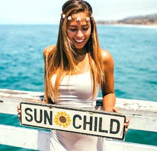 THIS IS SO CUTE. OMG. Sun Child Brandy Melville Sign