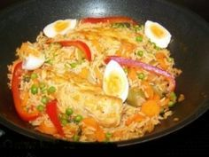 Arroz Con Pollo Chapina (Guatemala style chicken and rice)  One of our May 2013 featured Guatemalan recipes.