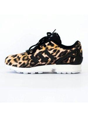 Adidas Zx Flux Mujer Leopardo