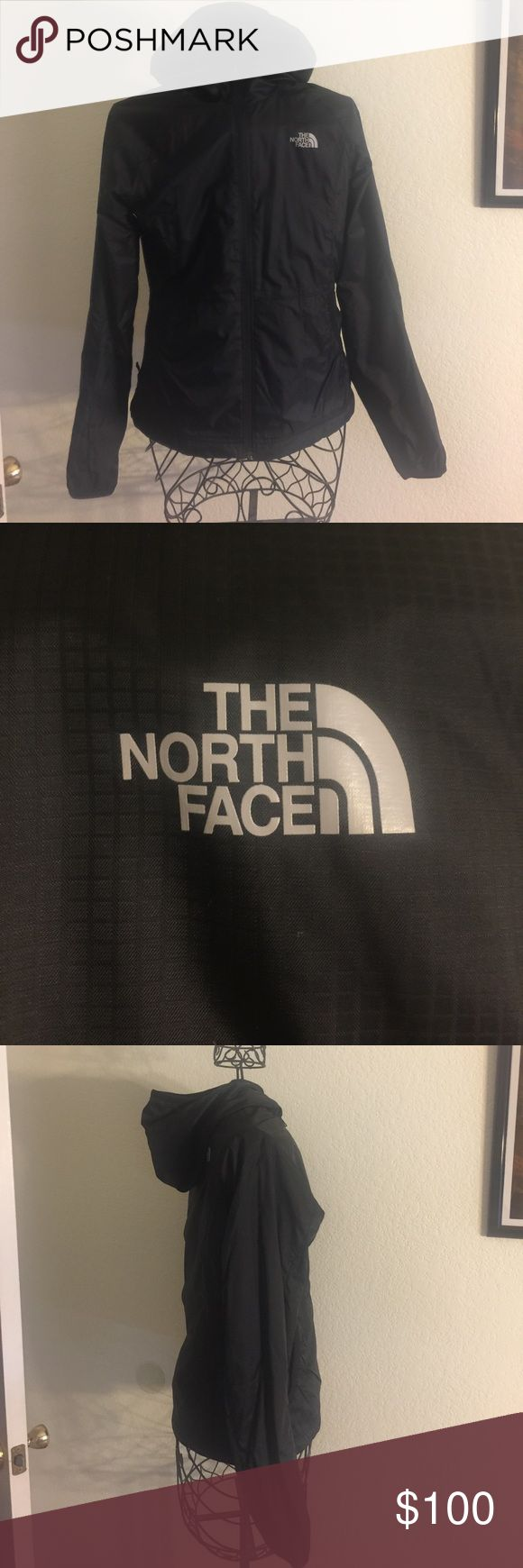 The north face fleece lined raincoat North face fleece lined rain coat.  Size small. Like new The North Face Jackets & Coats