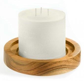 #design3000 Finca-Kerze von Engels Kerzen mit 3 Dochten.