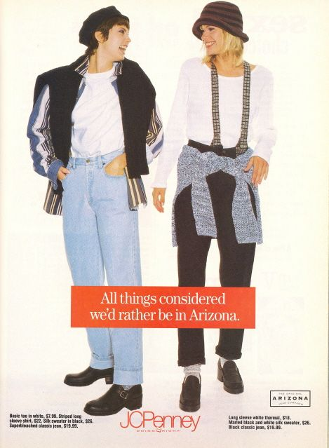 I can not say enough times how GLAD I am that I was not a teenager during the 90's…the clothes are just awful!