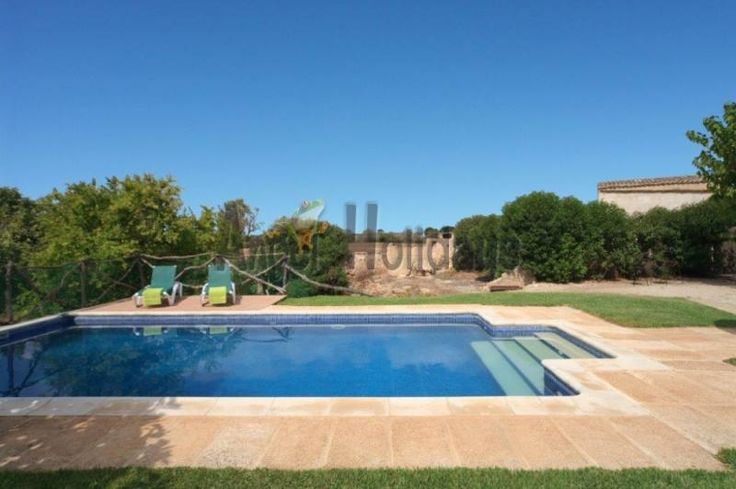 Book now for 2018! Romantic and affordable FINCA with private pool for 8 people near the coast Son Serra de Marina https://www.angel-holidays.com/00455/?lang=en
