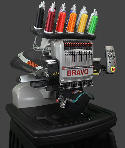 """""""The Absolute Best Value in a Commercial Embroidery Machine"""" I so want this.  MELCO AMAYA BRAVO """"C"""" PACKAGE A World Class 16-Needle Embroidery Machine  Comp..."""