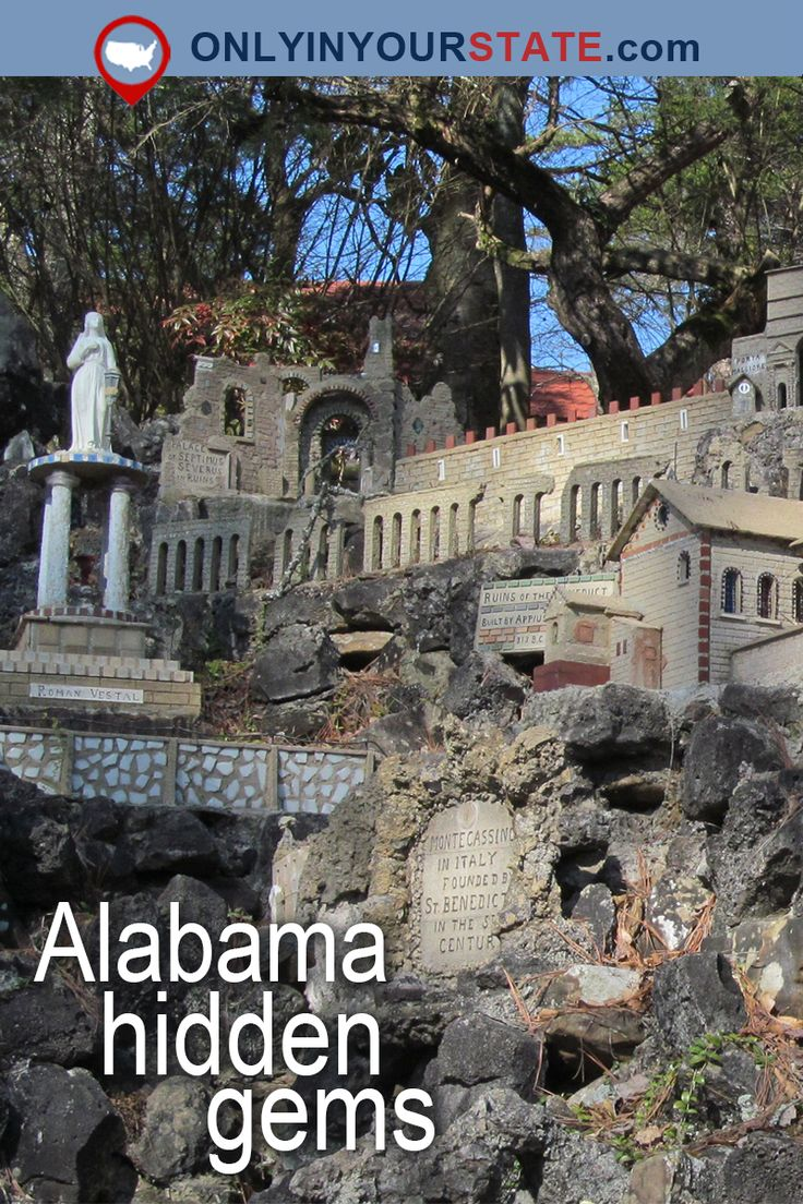 Travel   Alabama   Attractions   USA   Hidden Gems   Day Trips   Natural Beauty   Outdoors   Adventure   Places To Visit   Natural Bridge   Safari   Frank Lloyd Wright   Historic Homes   Wilderness   National Forest   Things To Do   Museums   Big Fish   Spectre   Tim Burton   Cave   Small Towns