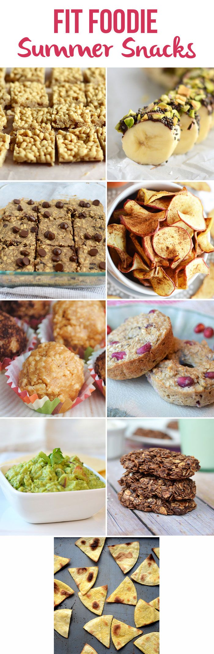 Fit Foodie Summer Snacks + 33 other Healthy Summertime Recipes! via FitFoodieFinds.com