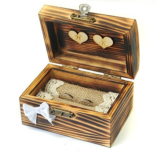 Personalized wedding ring box, Rustic ring bearer, Wooden... https://www.amazon.com/dp/B01N1V4WF6/ref=cm_sw_r_pi_dp_x_jP84yb9CDVPQ9