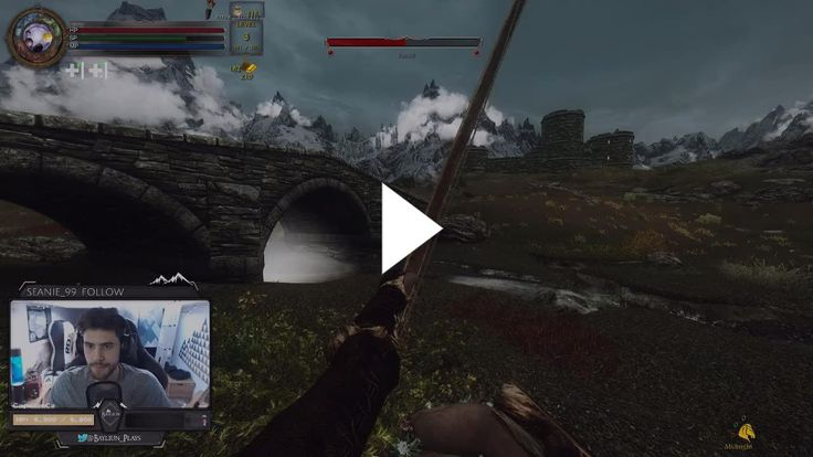 RIP Keith the glitched female wood elf #games #Skyrim #elderscrolls #BE3 #gaming #videogames #Concours #NGC