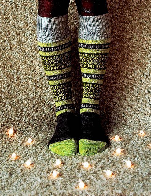 Incredible knee socks!