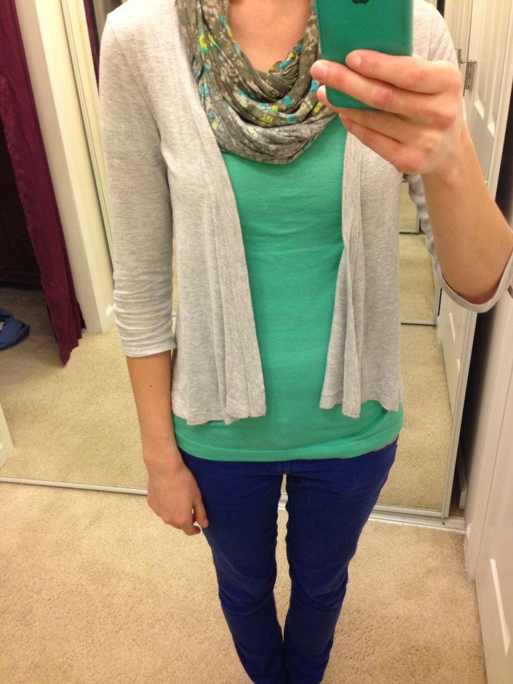 Spring teacher outfit - to make it more professional, I would probably wear gray or tan slacks