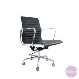 Replica Eames Ribbed Office Chair Low - Standard