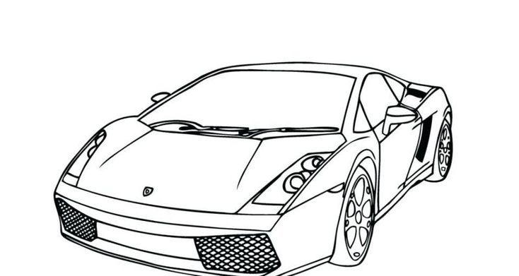 Coloring Pages Lamborghini Urus