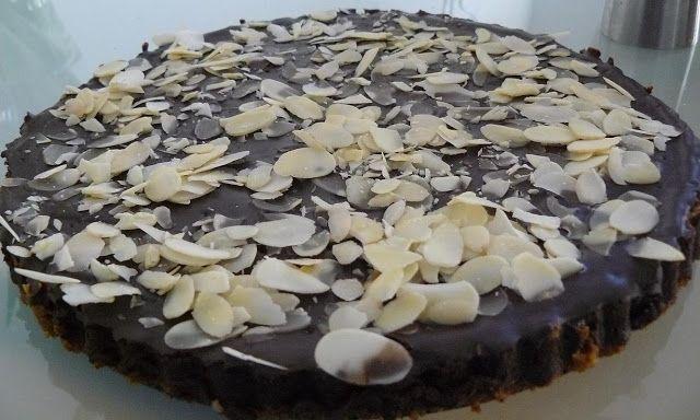 Kuchnia Słonia: Tarta potrójnie czekoladowa