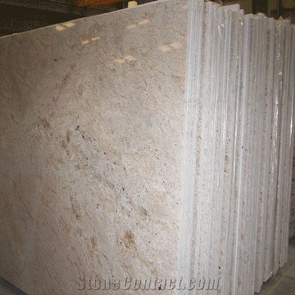 Colonial Cream Granite Slab, India Beige Granite-231746 - StoneContact.com