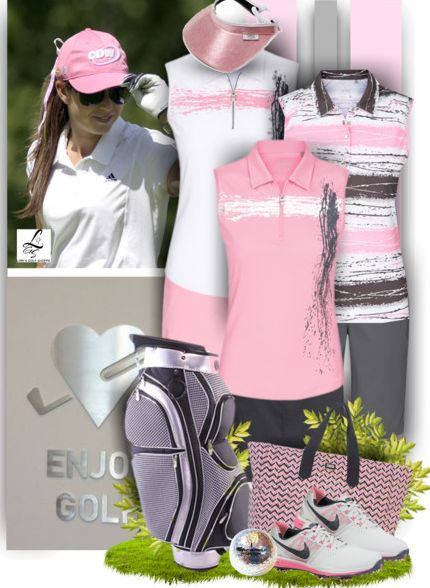 Enjoy golf in fashionable outfits like these! Available at #lorisgolfshoppe