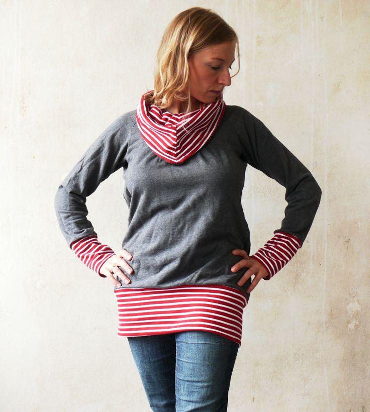 Pullover vergrößert und verschönert / Jumper magnified and beautified