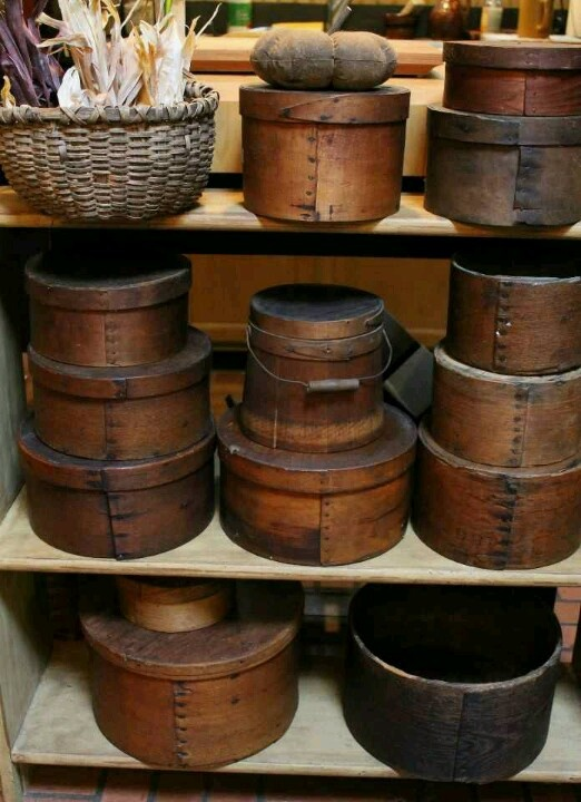 Pantry Boxes & Measures