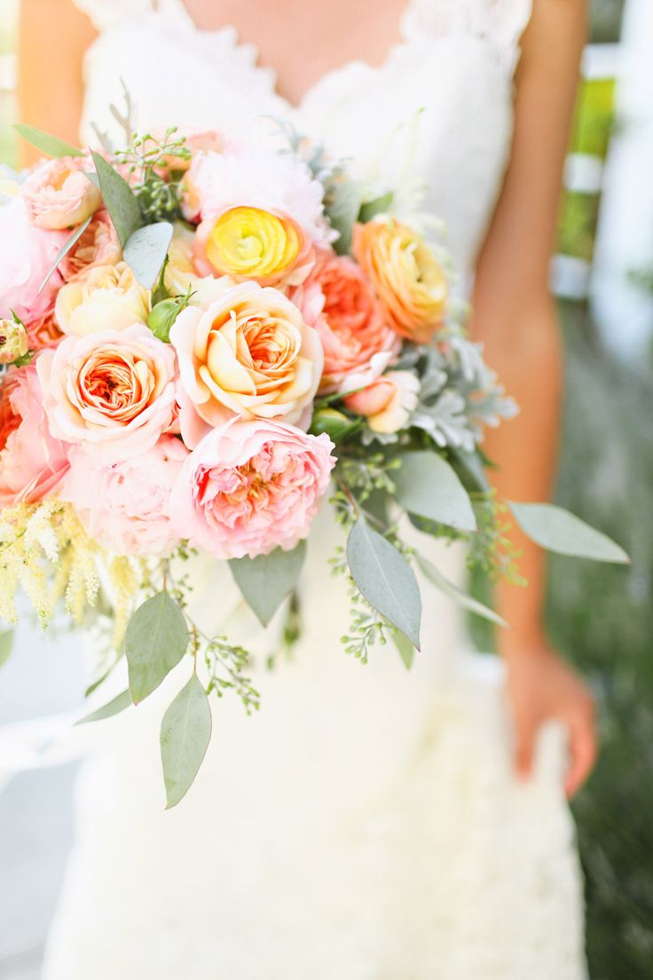 Flowers.  Farm to Table Wedding from Adrienne Gunde  Read more - http://www.stylemepretty.com/2013/10/18/farm-to-table-wedding-from-adrienne-gunde/