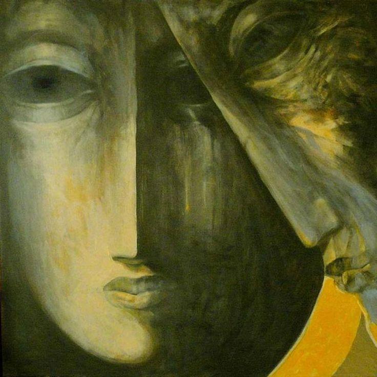 Krzysztof Krawiec - obrazy akryl - Pieta