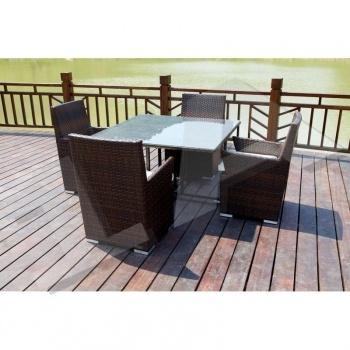 25+ parasta ideaa Pinterestissä Gartentisch set Terassentisch - gartenmobel polyrattan grau