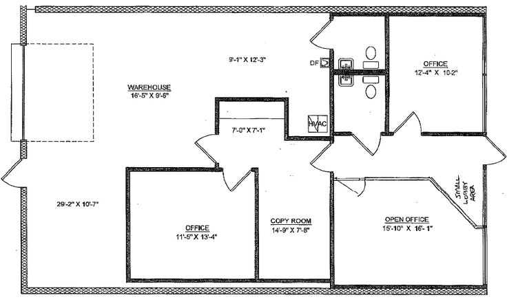 Warehouse Floor Plan Design: Selling A Warehouse Office