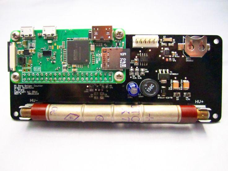 Raspberry Pi Zero IoT Geiger Counter by Granz Scientific