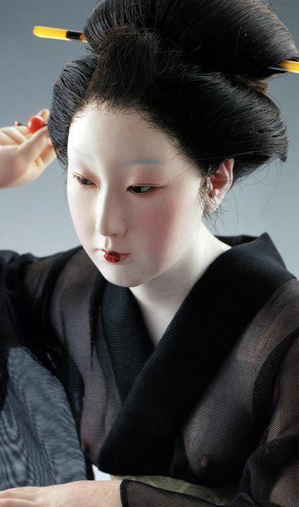平田郷陽氏の作品 Goyo Hirata's doll.