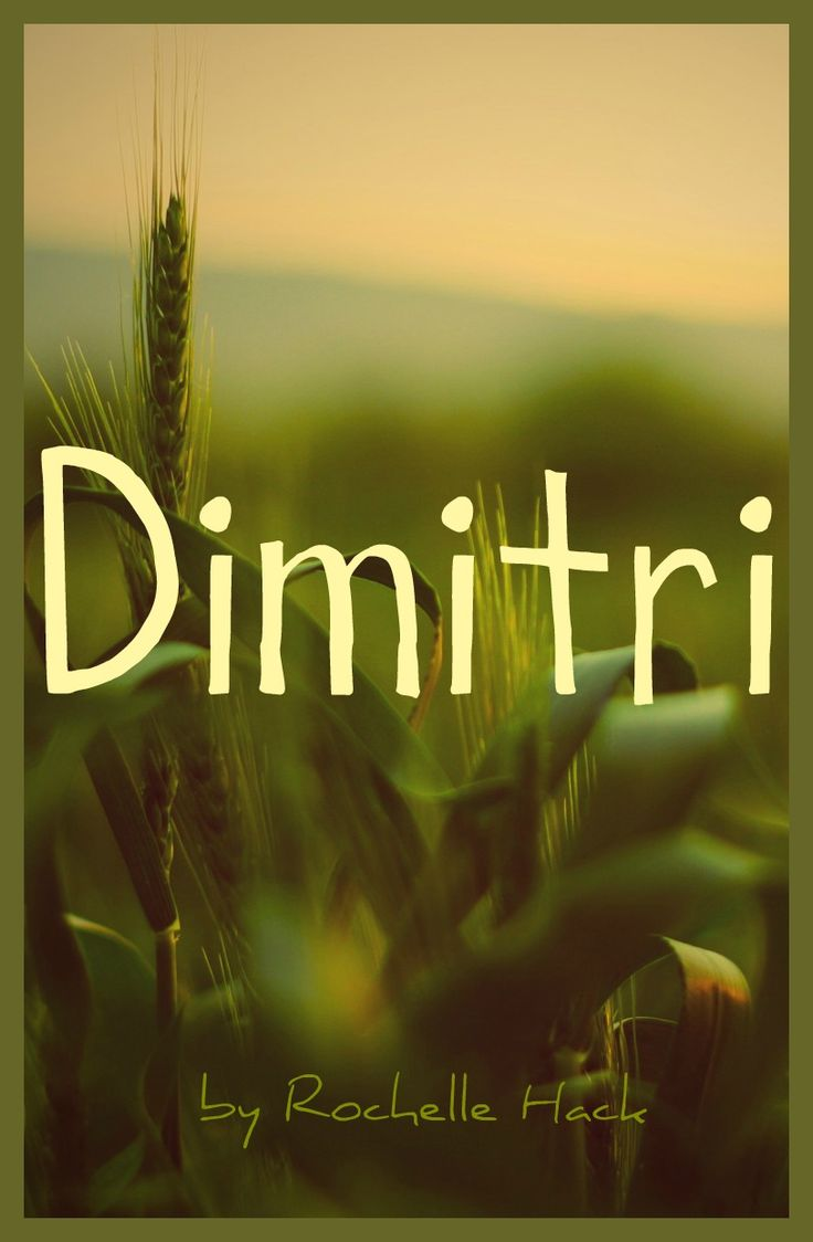 Baby Boy Name: Dimitri. Meaning: Follower of Demeter, goddess of the harvest. Origin: Greek; Slavic; Russian; Ukrainian. https://www.pinterest.com/vintagedaydream/baby-names/