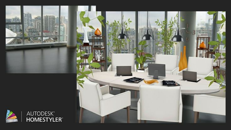 """Check out my #interiordesign """"Meeting room"""" from #Homestyler http://autode.sk/1spXhwX"""