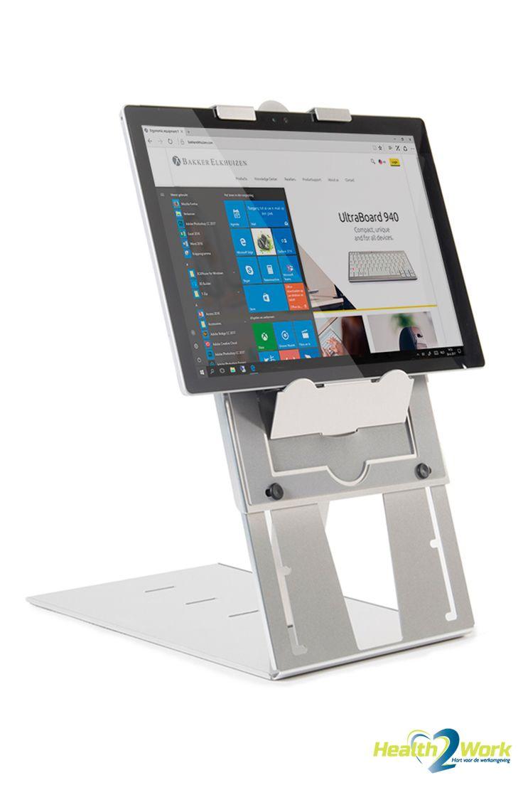 Tablet holder designed for the Microsoft Surface