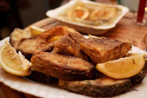 1) Fried carp / Smażony karp The most important dish on christmas table in Poland!  #Christmas #dish #carp #fish #christmastime #poland