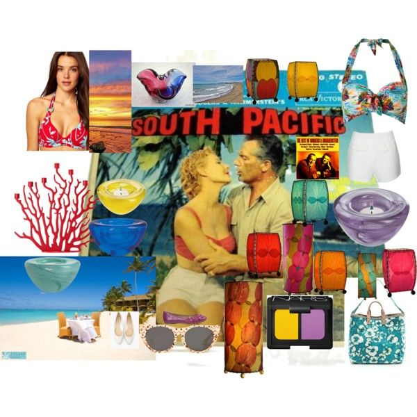 """""""Tribute to the movie: """"South Pacific"""" and the Song, """"Some Enchanted Evening"""""""" by momtheplumber on Polyvore"""