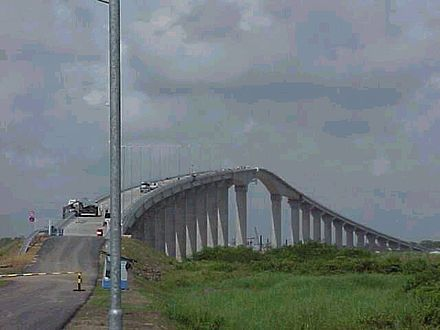De Jules Wijdenboschbrug is de brug over de rivier Suriname tussen Paramaribo en de plaats Meerzorg in het district Commewijne. De brug maakt deel uit van de Oost-Westverbinding en is genoemd naar de voormalig president Jules Wijdenbosch. De brug wordt ook wel Surinamebrug genoemd.
