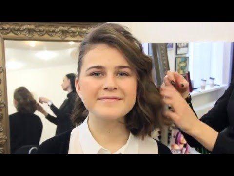 7 красивых причесок на короткие волосы | Прически для каре на каждый день - YouTube
