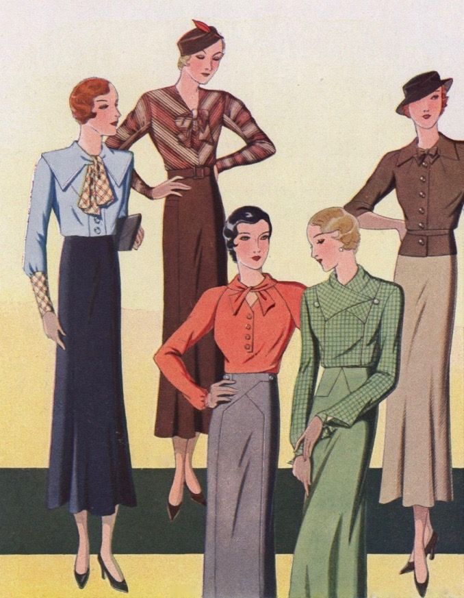 1930s Fashion - Hollywood styles go white under the sun