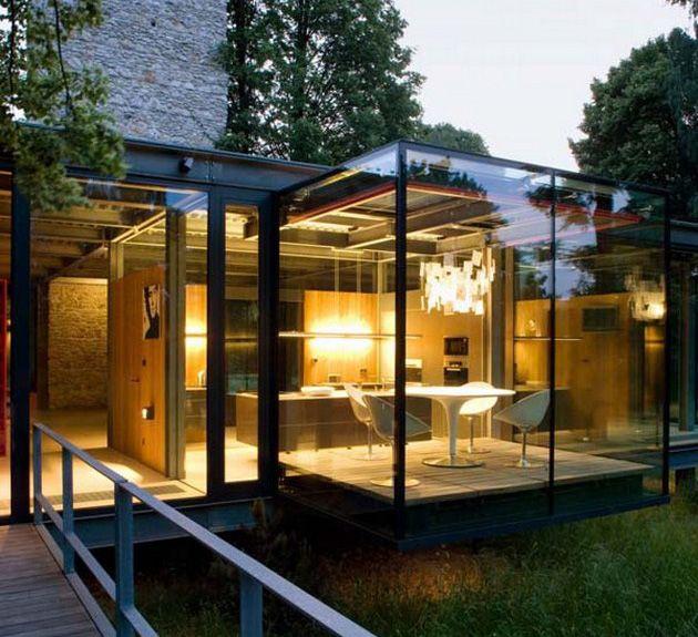 Architects, Dreams, Glasses Wall, Architecture, Jodlowa House, Glass Houses, Modern House, Glasses House, Design