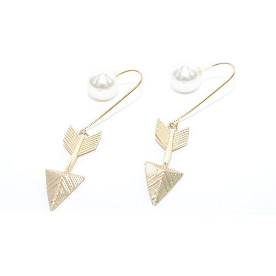 pendientes flecha y perla (6,99\u20ac) www.deplanoodetacon.com ¡