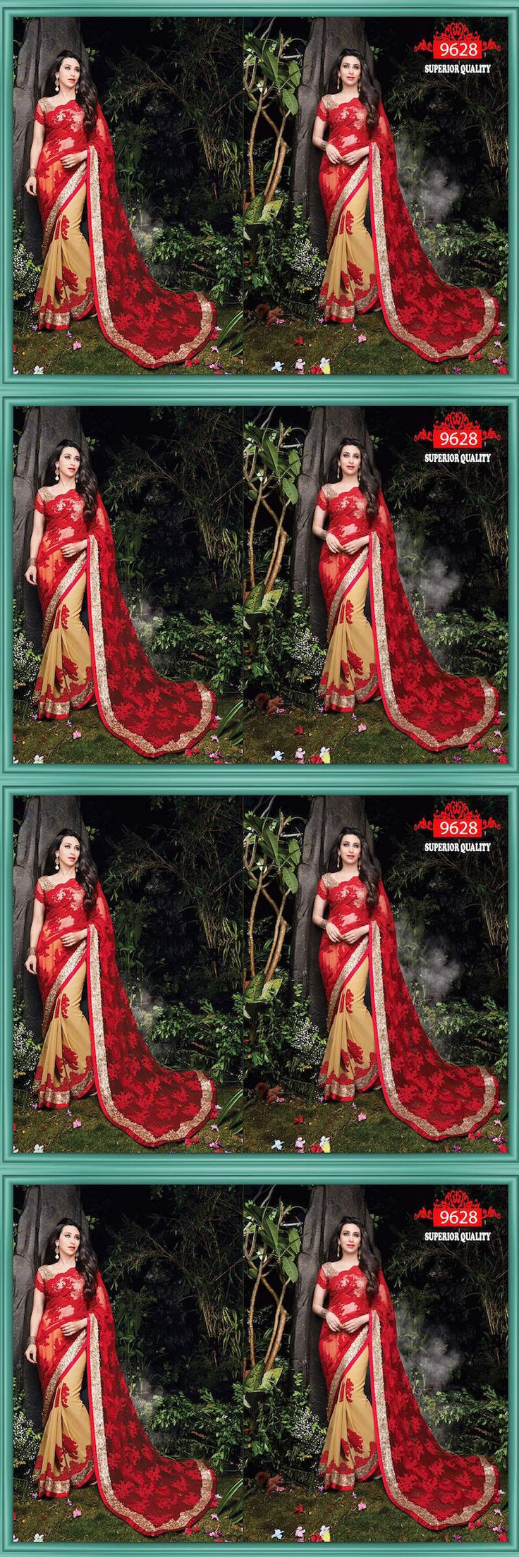 Sari Saree 155250: Designer Party Wear Wedding Indian Pakistani Saree Sari Bollywood Ethnic Lehenga -> BUY IT NOW ONLY: $64.25 on eBay!