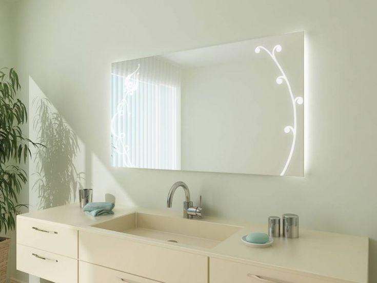 Die besten 25+ Badezimmerspiegel mit beleuchtung Ideen auf - badezimmer spiegel beleuchtung