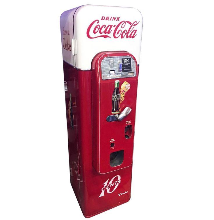 Coca-Cola Vendo 44 Coke Vending Machine