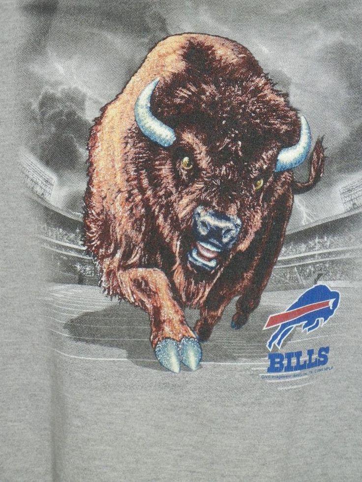 VTG 1990's Buffalo Bills adult L sweatshirt Ralph Wilson Stadium #LeeSport #BuffaloBills
