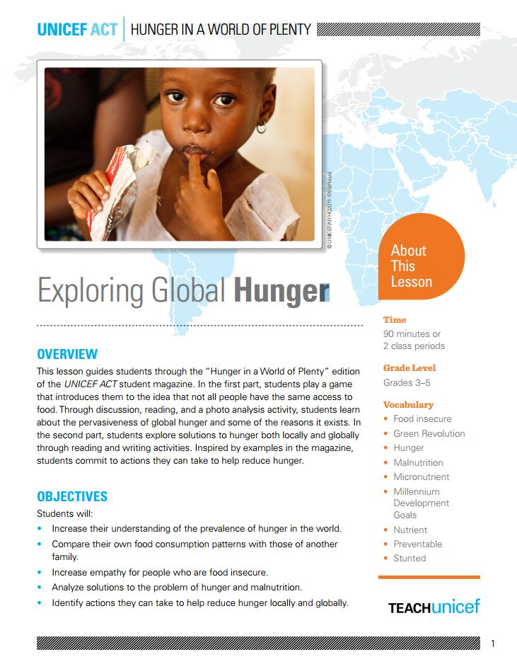 world hunger problems and solutions Eight ways to solve world hunger alex renton  and governments that supporting and training small farmers is the best possible solution to future food security  the way in tackling world hunger.
