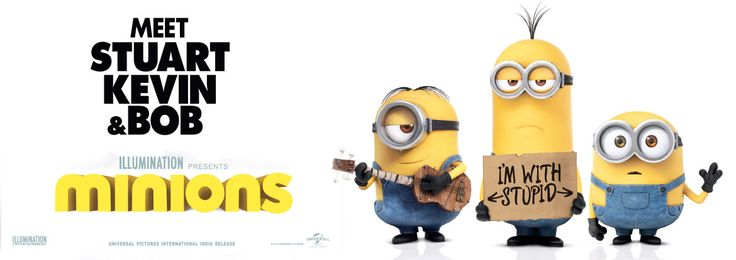 Minions Movie Review, User Rating, Film Story & Trailer. Check Latest English Movies, Hollywood Movie Release Dates & Critics Review at Bookmyshow.com