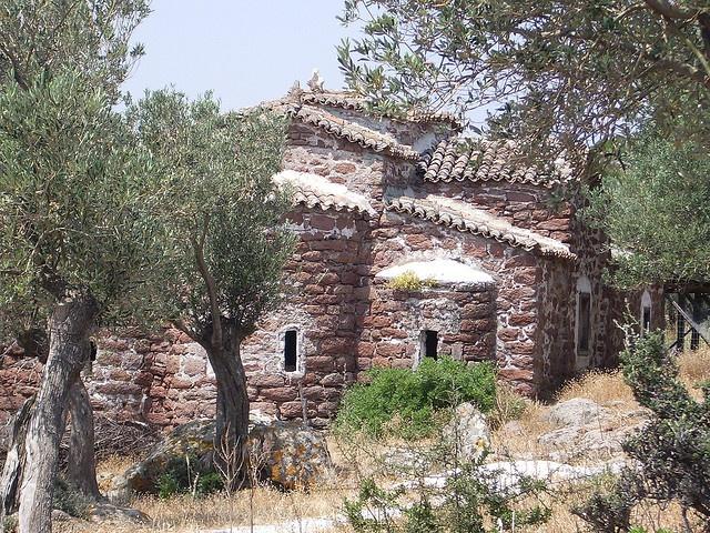 St. Stefanos Church. Lesvos