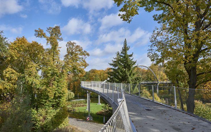 Weinbergbrücke - Bundesgartenschau 2015 Havelregion