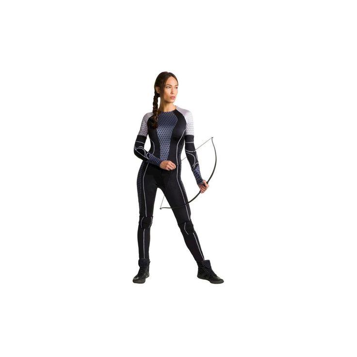 Halloween Women's Hunger Games: Catching Fire Katniss Costume - X Small, Size: XS, Black