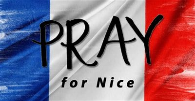 Prayer for France and for those who are suffering such great loss. Though evil seems rampant in our world, it will not have the final say...