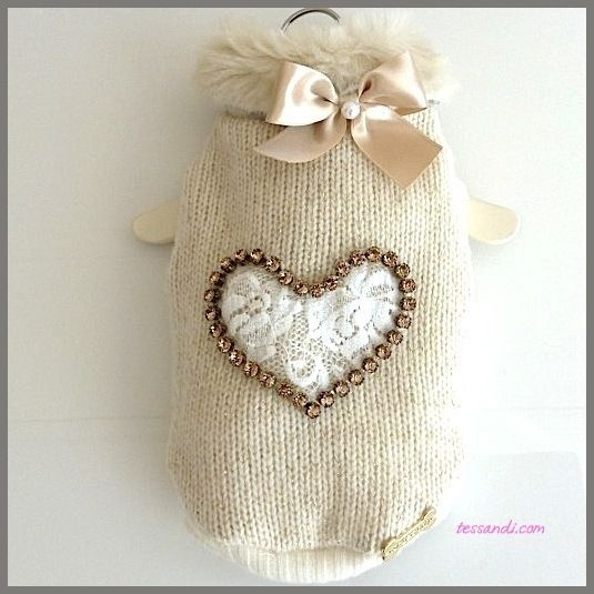 FOR PETS ONLY - HEART WHITE PULL LIMITED EDITION