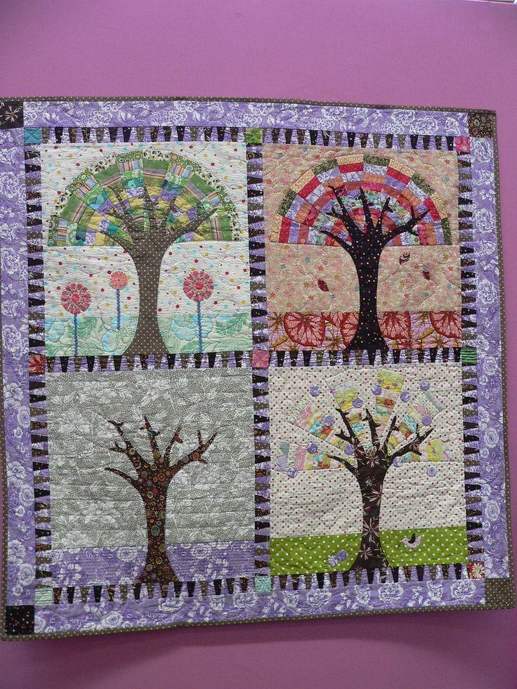 the seasons-quilt by Sarah Fielke